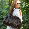 Borsa Tatiana in pitone back cut Brunello by GLENI
