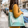 Shopper in pitone Limpet Shell