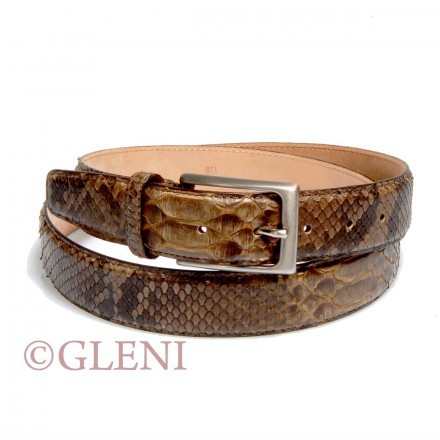 Dynamic python leather belt 102