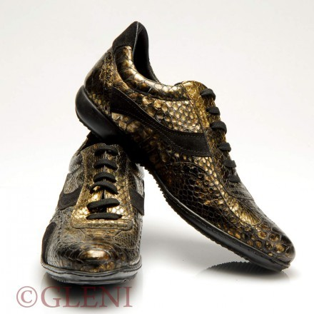 Trendy man python shoes SF 13