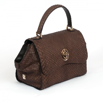 Borsa in vera anconda made in Italy  GLENI